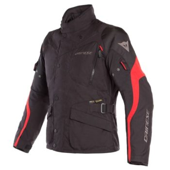 Dainese Tempest 2 D Dry Black Tour Red Riding Jacket 1