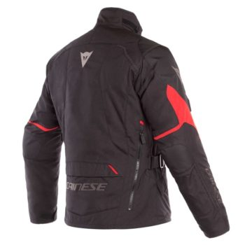 Dainese Tempest 2 D Dry Black Tour Red Riding Jacket