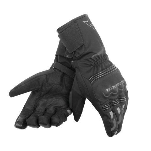 Dainese Tempest Unisex D Dry Long Black Riding Gloves