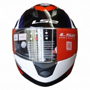 LS2 FF320 Exo Gloss Black Black Full Face Helmet 1