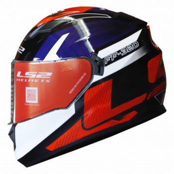 LS2 FF320 Exo Gloss Black Black Full Face Helmet