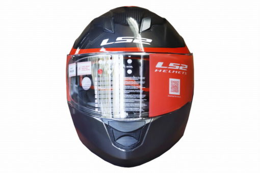 LS2 FF320 Flaux Gloss Black Red Full Face Helmet 1