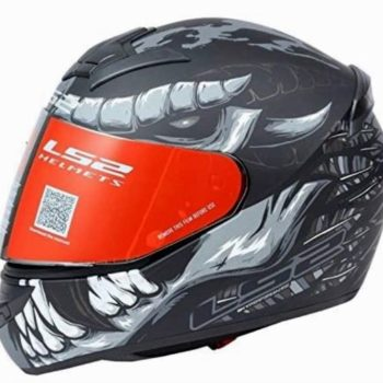 LS2 FF352 Fly Demon Matt Black Grey Full Face Helmet