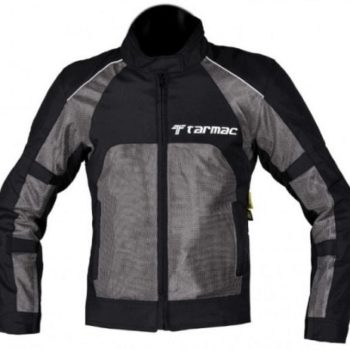 Tarmac Drifter II Mens Black Grey Riding Jacket