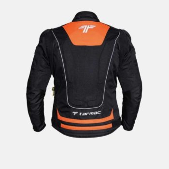 Tarmac One III Black Orange Riding Jacket 2
