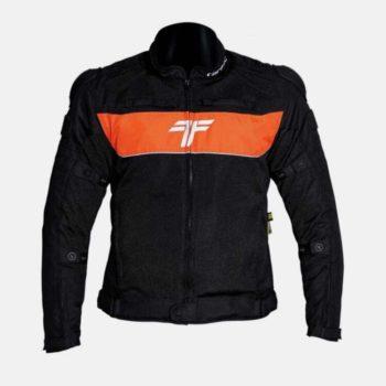 Tarmac One III Black Orange Riding Jacket