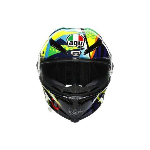AGV Pista GP RR Rossi Winter Test 2020 Gloss Full Face Helmet 2