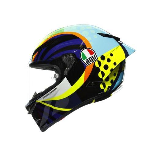 AGV Pista GP RR Rossi Winter Test 2020 Gloss Full Face Helmet 3