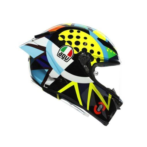 AGV Pista GP RR Rossi Winter Test 2020 Gloss Full Face Helmet 4