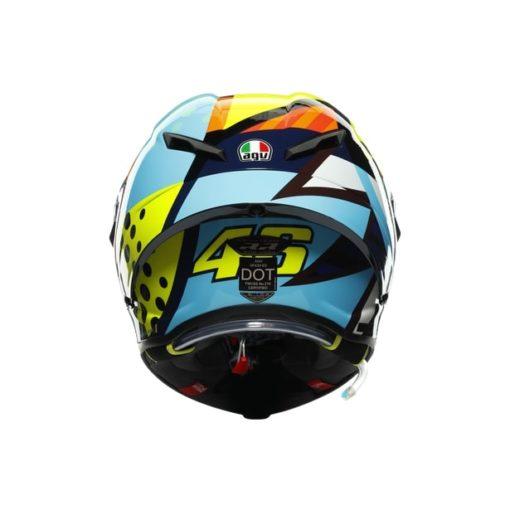 AGV Pista GP RR Rossi Winter Test 2020 Gloss Full Face Helmet 5
