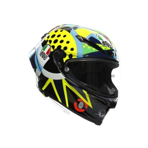AGV Pista GP RR Rossi Winter Test 2020 Gloss Full Face Helmet