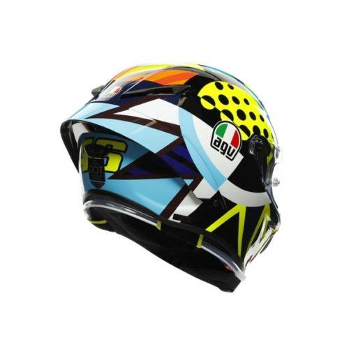 AGV Pista GP RR Rossi Winter Test 2020 Gloss Full Face Helmet 6