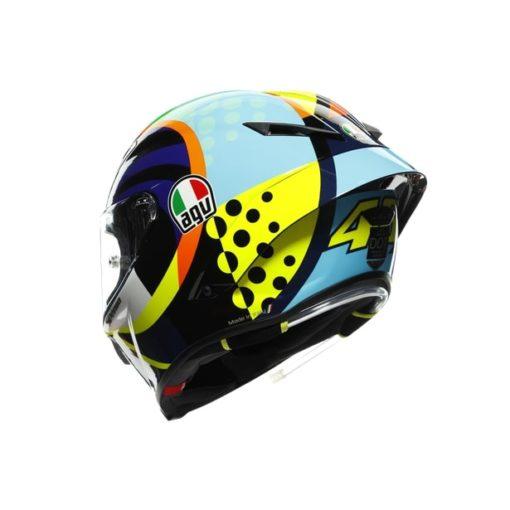 AGV Pista GP RR Rossi Winter Test 2020 Gloss Full Face Helmet 7