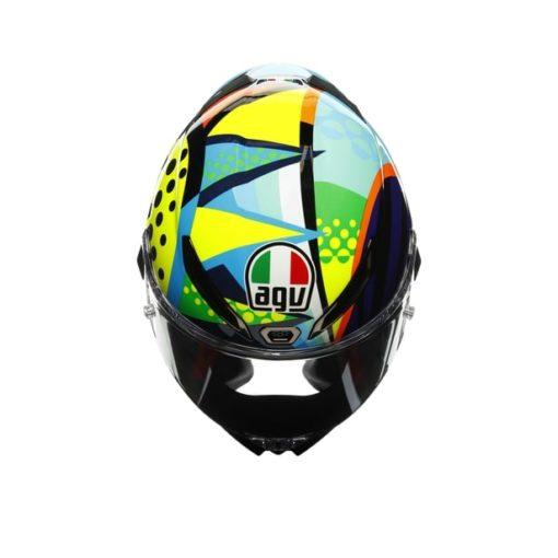 AGV Pista GP RR Rossi Winter Test 2020 Gloss Full Face Helmet 8