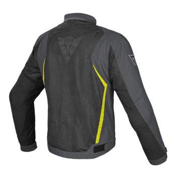 Dainese Hydra Flux D Dry Black Dark Grey Fluorescent Yellow Riding jacket 1