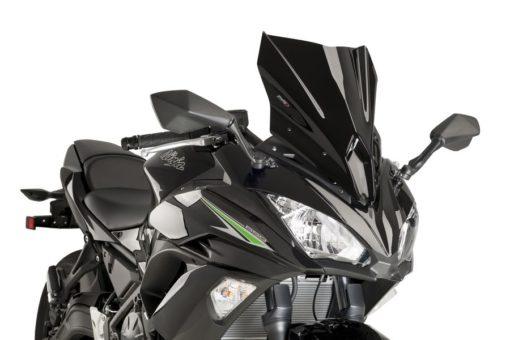 Puig Kawasaki Ninja 650 Wind Screen Dark Smoke