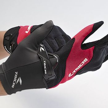 RS Taichi Cool Ride Inner Black Riding Gloves 1