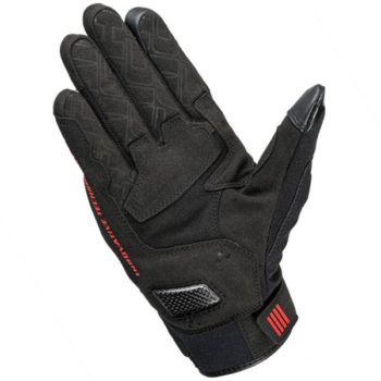 RS Taichi Stroke Air Black Red Gloves 1
