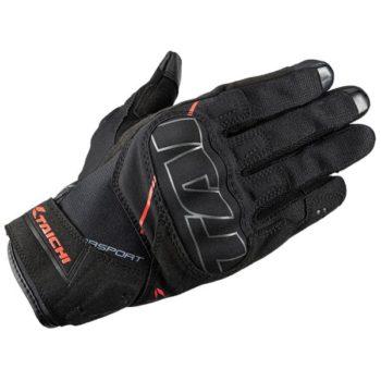 RS Taichi Stroke Air Black Red Gloves