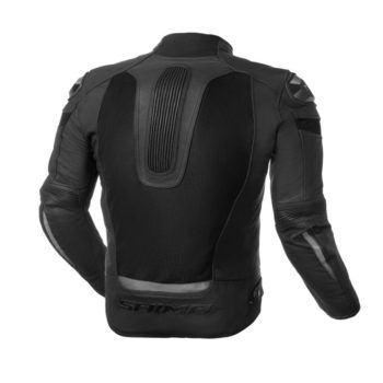 Shima Piston Leather Mesh Black Riding Jacket 2