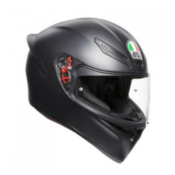 AGV K1 Solid Matt Black Full Face Helmet