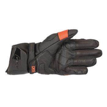 Alpinestars GP PRO R3 Black Fluorescent Red Riding Gloves 2