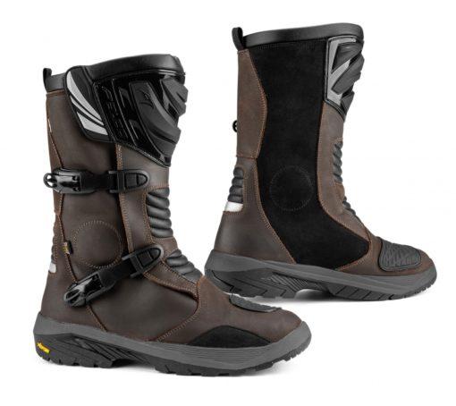 Falco Mixto 3 Adventure Brown Riding Boots