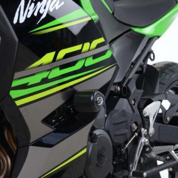 RG Aero Crash Protectors Non Drill for Kawasaki Ninja 400 3