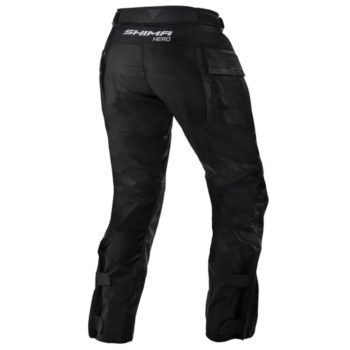 Shima Hero Adventure Black Riding Pants 1