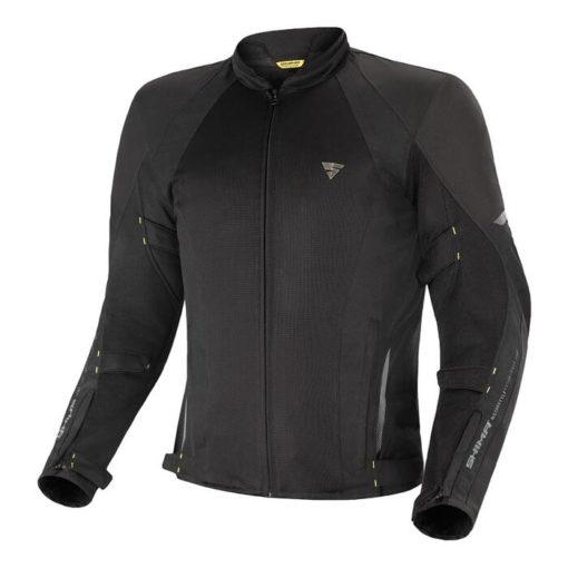 Shima Jet Mesh Touring Black Riding Jacket
