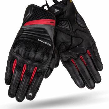 Shima RUSH Black Red Riding Gloves 3