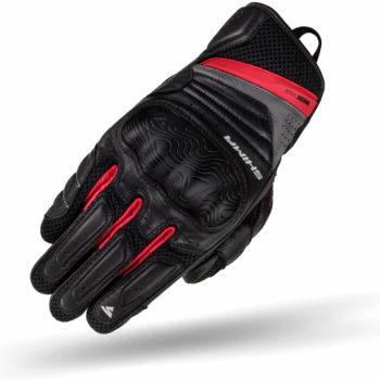 Shima RUSH Black Red Riding Gloves