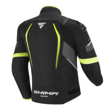 Shima Solid Pro Fluorescent Yellow Riding Jacket 1