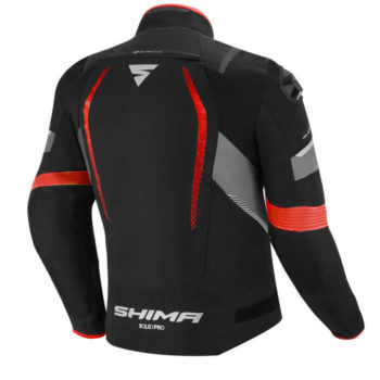 Shima Solid Pro Red Riding Jacket 1