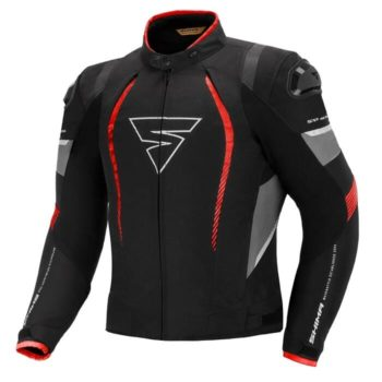 Shima Solid Pro Red Riding Jacket