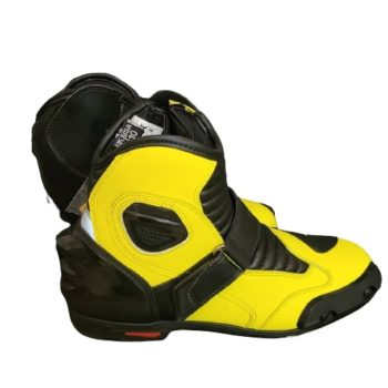 Tarmac Blade 2 Black Fluorescent Yellow Riding Boots 1