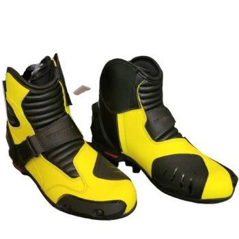 Tarmac Blade 2 Black Fluorescent Yellow Riding Boots 3