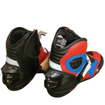 Tarmac Blade 2 Black White Red Blue Riding Boots 1