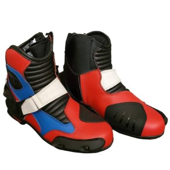 Tarmac Blade 2 Black White Red Blue Riding Boots 2