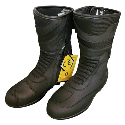 Tarmac Tour Black Riding Boots