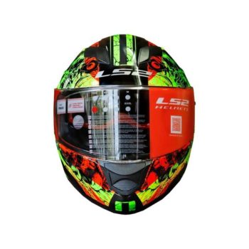 FF320 Stream Evo Throne Gloss Black Yellow Helmet 3