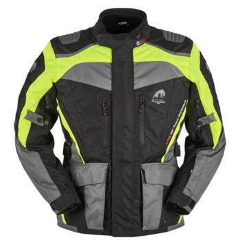 Furygan Apalaches Fluorescent Yellow Black Riding Jacket 1