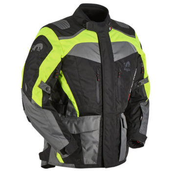 Furygan Apalaches Fluorescent Yellow Black Riding Jacket 2 1