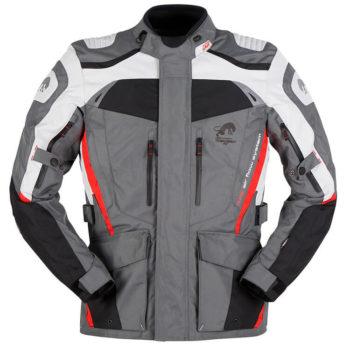 Furygan Apalaches Grey Red Black Riding Jacket 1
