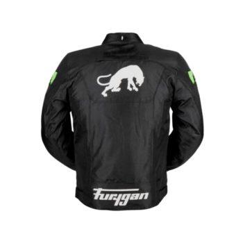 Furygan Atom Black Fluorescent Green Jacket 2
