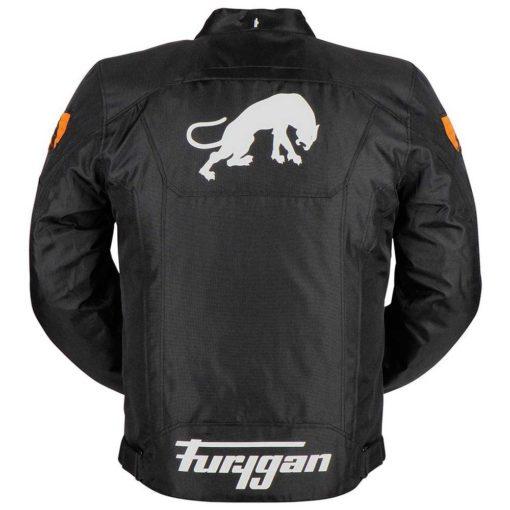 Furygan Atom Black Orange Riding Jacket 2