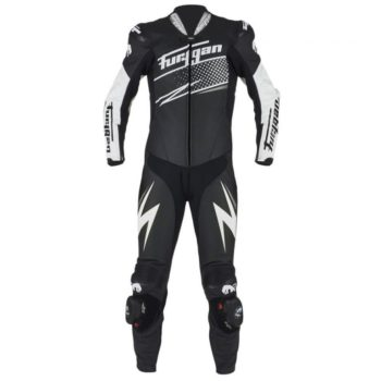 Furygan Full Ride Black White Racing Suit