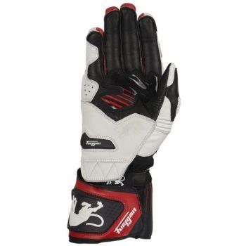 Furygan Shifter Evo Black White Red Riding Gloves 2