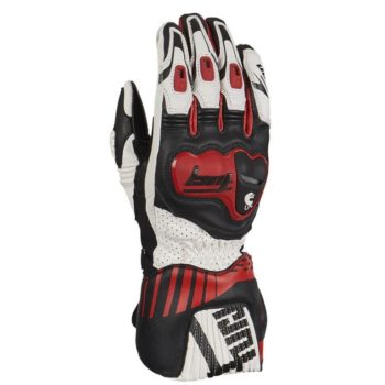 Furygan Shifter Evo Black White Red Riding Gloves