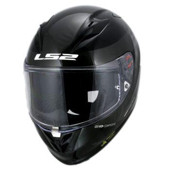 LS2 FF323 Arrow R Commet Gloss Black Titanium Helmet 3